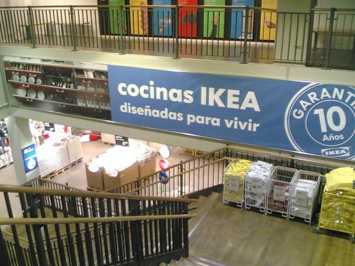 Lonas publicitarias IKEA Barakaldo | ICÓNICA | Expertos en rotulación en Vitoria-Gasteiz