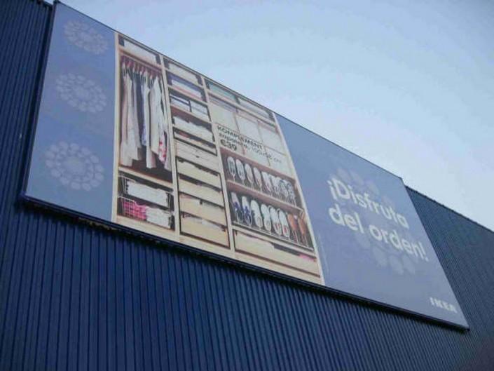 Lonas publicitarias IKEA Murcia | ICÓNICA | Expertos en rotulación en Vitoria-Gasteiz