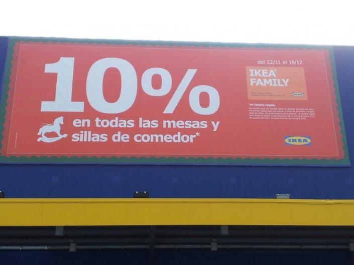 Lonas publicitarias IKEA Valladolid | ICÓNICA | Expertos en rotulación en Vitoria-Gasteiz