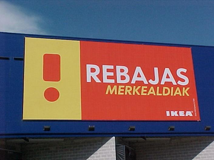 Lonas publicitarias IKEA Vallecas | ICÓNICA | Expertos en rotulación en Vitoria-Gasteiz