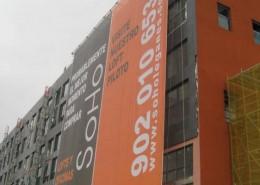 Lonas publicitarias Soho Leganés | ICÓNICA | Expertos en rotulación en Vitoria-Gasteiz