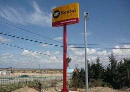 Monopostes Barloworld Zaragoza | ICÓNICA | Expertos en rotulación en Vitoria-Gasteiz