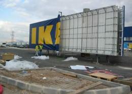 Monopostes IKEA Murcia   ICÓNICA   Expertos en rotulación en Vitoria-Gasteiz
