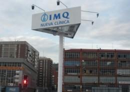 Monopostes IMQ Bilbao | ICÓNICA | Expertos en rotulación en Vitoria-Gasteiz