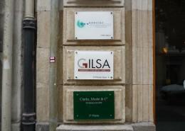 Señalética GILSA en Vitoria-Gasteiz   ICÓNICA   Rótulos en Vitoria-Gasteiz   Expertos en rotulación