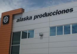 letras recortadas alaska producciones alcobendas