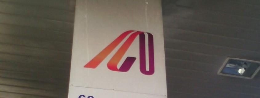Rótulos electrónicos en estación de servicio ANDAMUR | ICÓNICA